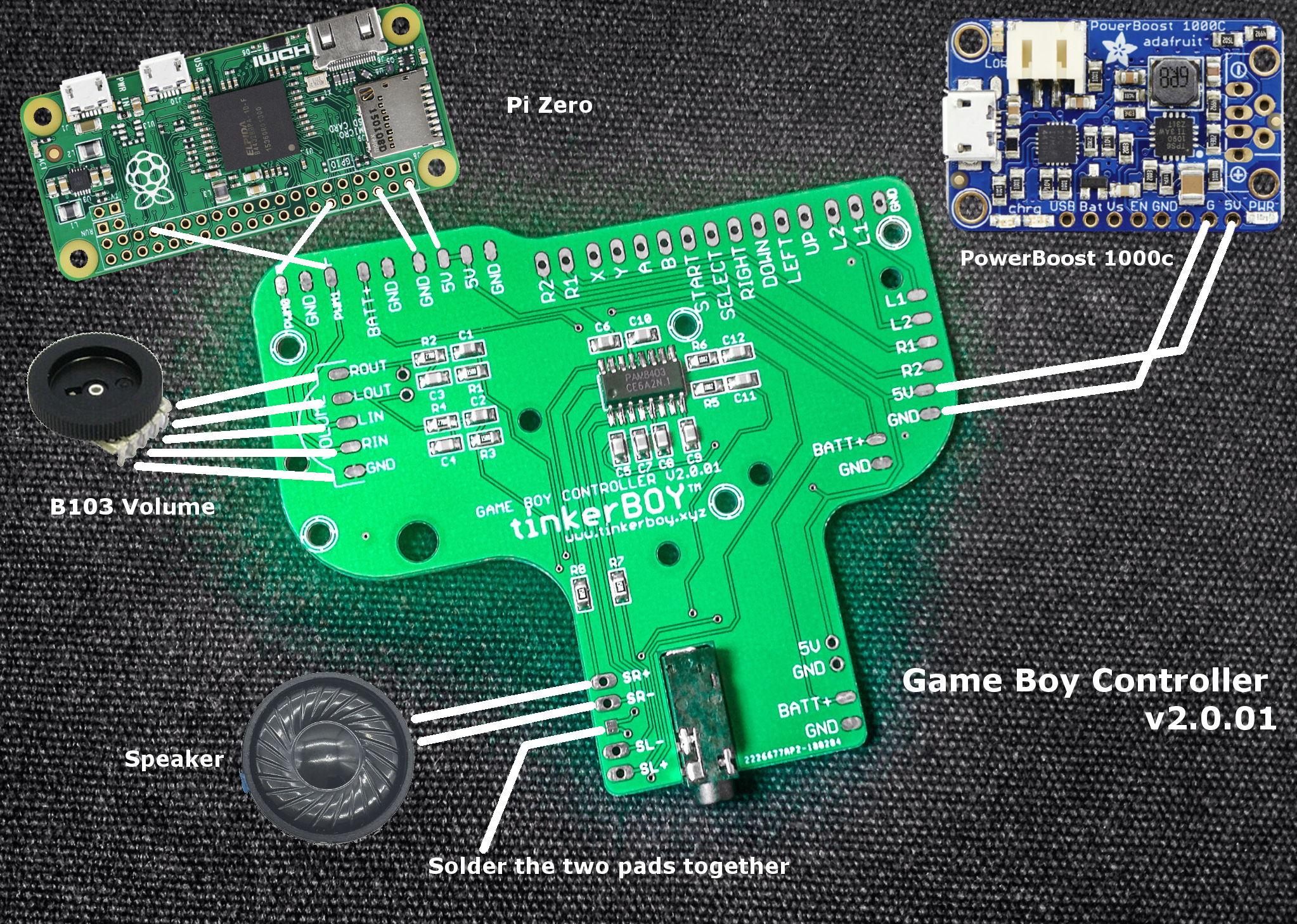 Game Boy 3 Tinkerboy Gbc Wiring Diagram Latest Version V2001