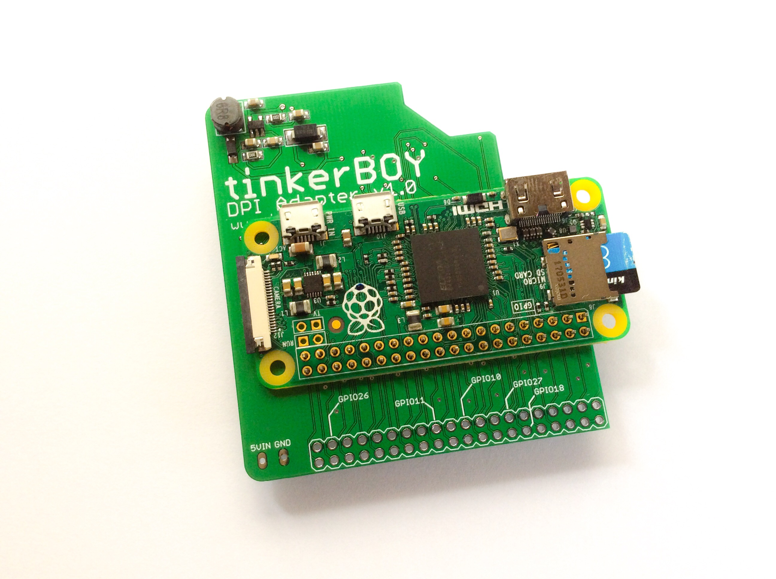 Game Boy Zero Tinkerboy Pi On Off Power Controller Up Your Raspberry With Latching And Mount The This Way